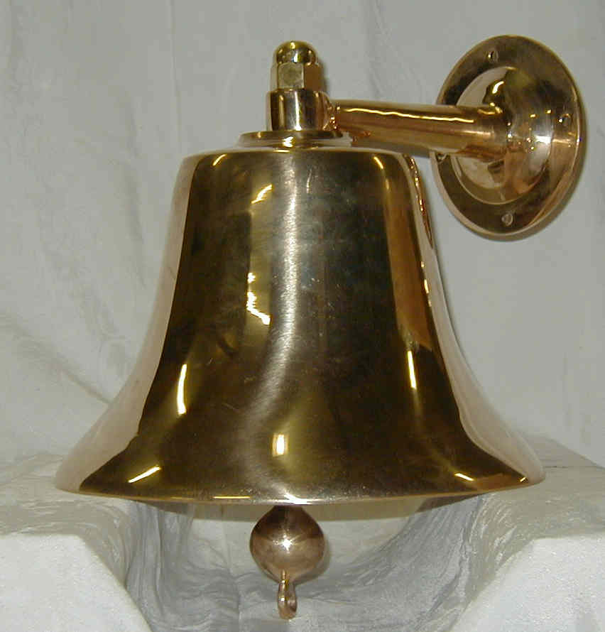 "12"" Ship's Bell Perko Made in USA"