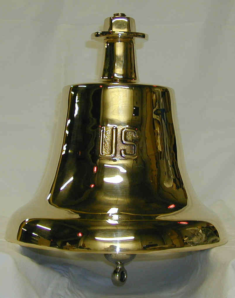 30 LB Mil-Spec Bell with US embossed on bell