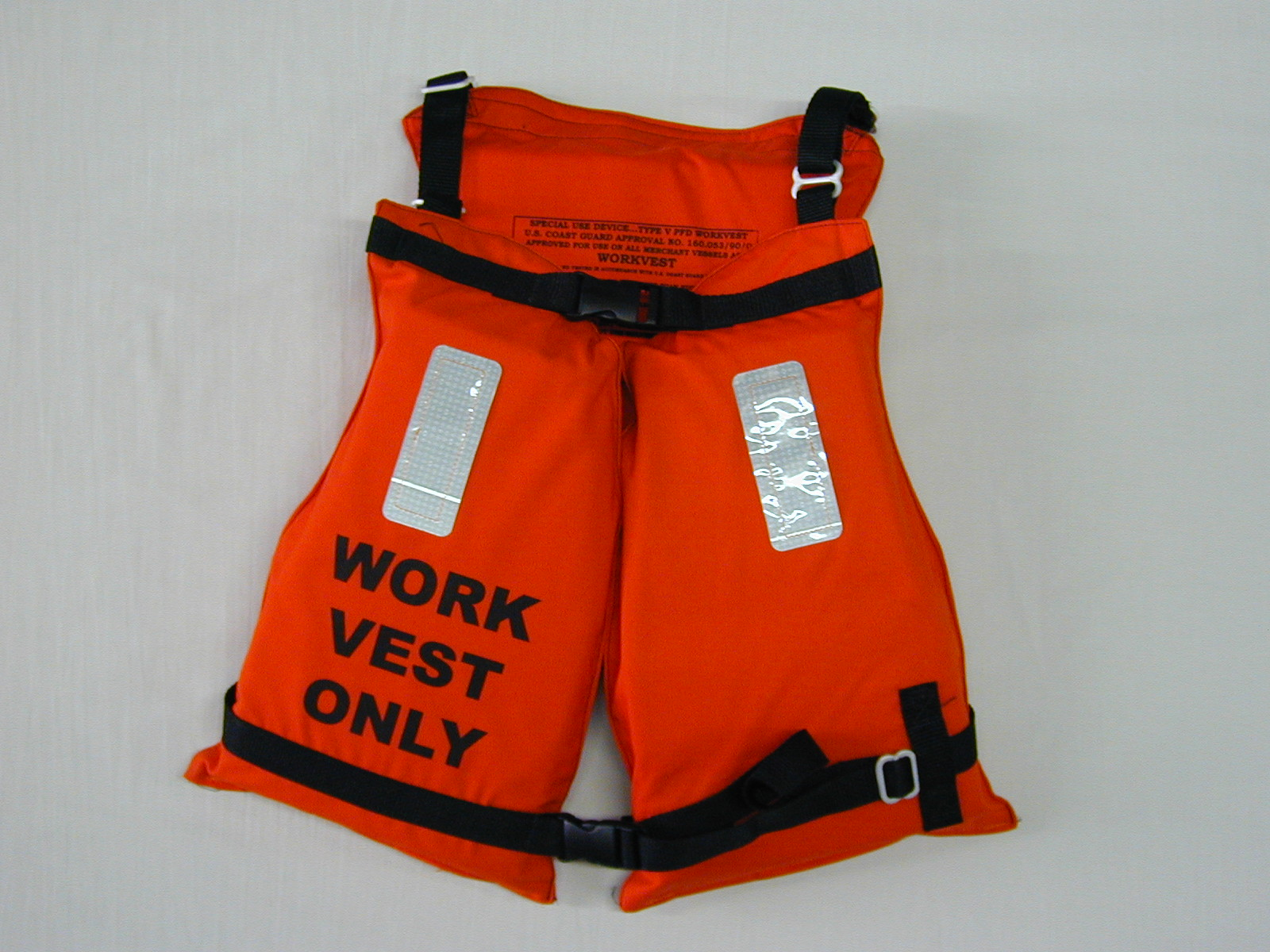 Type V Work Vest w/ Reflective  Tape